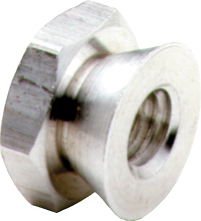 "5/16"" Break Away Security Nut Zinc Alloy 5/16-18"