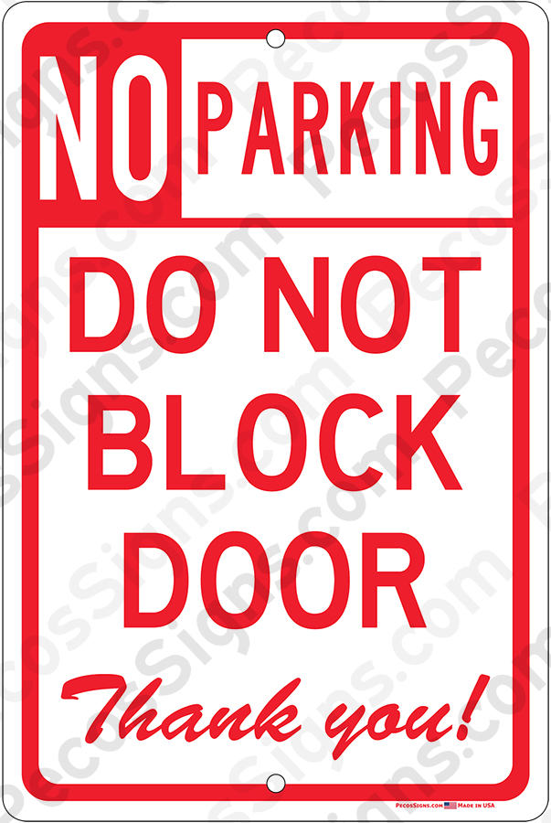 Visitor Parking Only on an 8x12 Aluminum Sign Made in USA UV Protected Wht//Blk